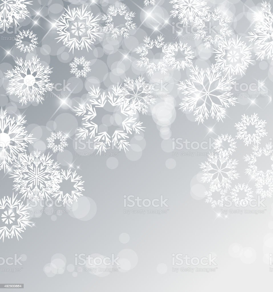 Vector Christmas Background vector art illustration