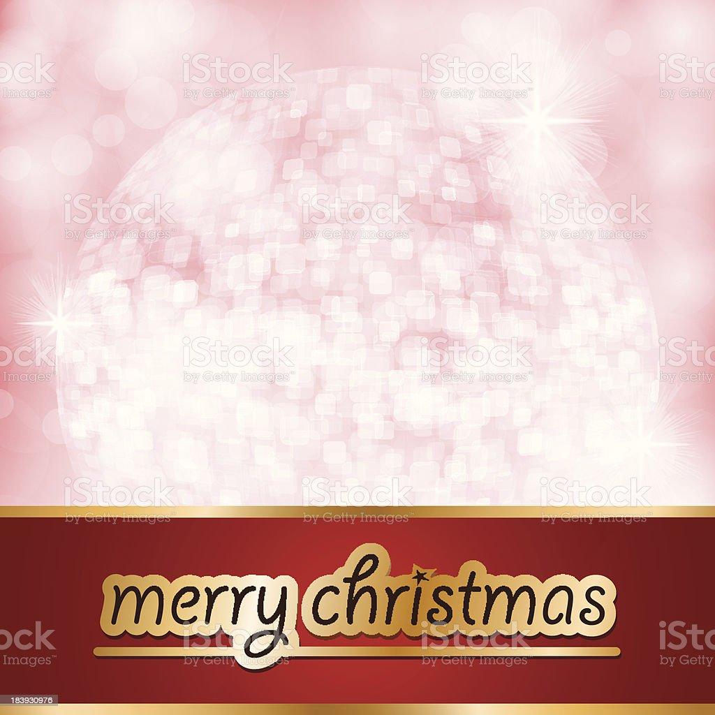 Vector Christmas Greetings vector art illustration