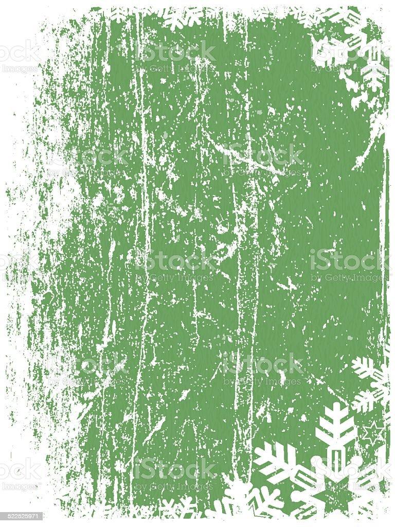 Vector Christmas Grunge Background vector art illustration