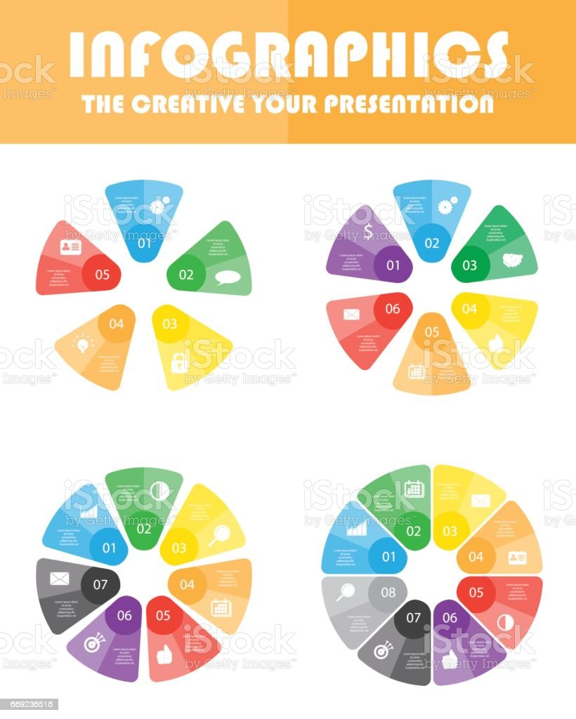 Process cycling arrow by arrow royalty free stock images image - Vector Circle Arrows For Infographic Template For Cycling Diagram Graph Presentation And Round