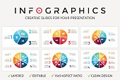 Vector circle arrows infographic, cycle diagram, graph, presentation chart. Business