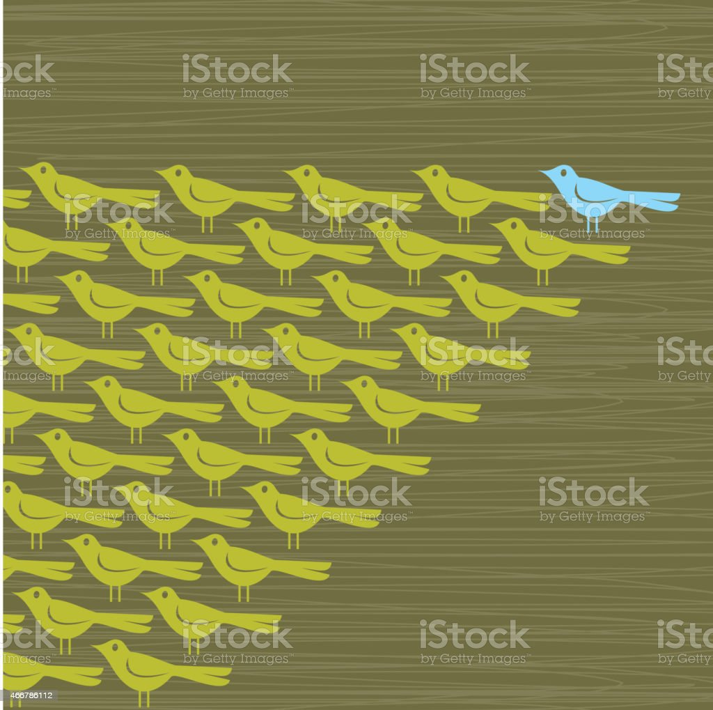 Vector Collection of Birds vector art illustration