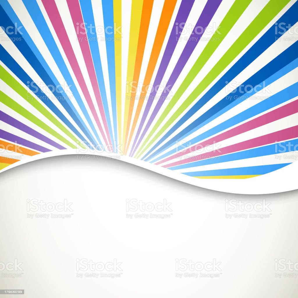 Vector Colorful Background royalty-free stock vector art
