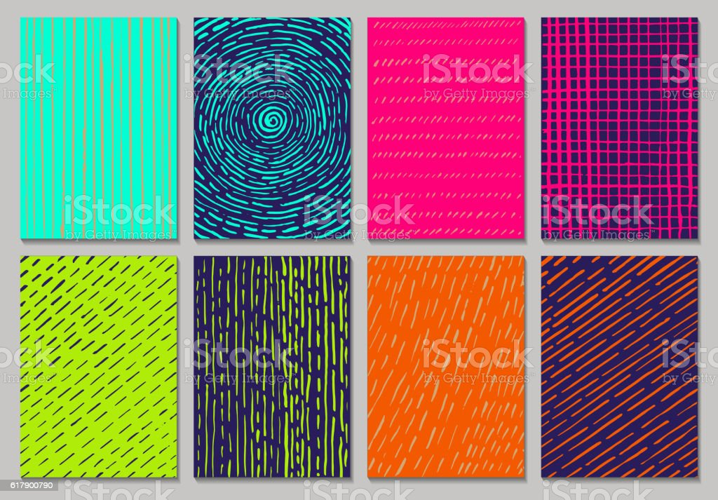 Vector creative cards vector art illustration