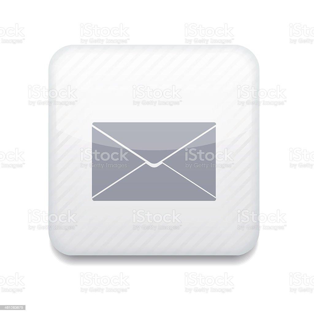 Vector creative white app icon royalty-free stock vector art