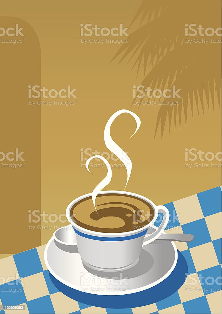 Vector Cup of Coffee royalty-free stock vector art