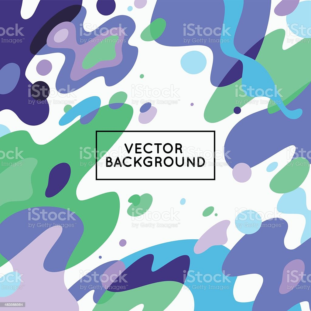 Vector decorative abstract background vector art illustration
