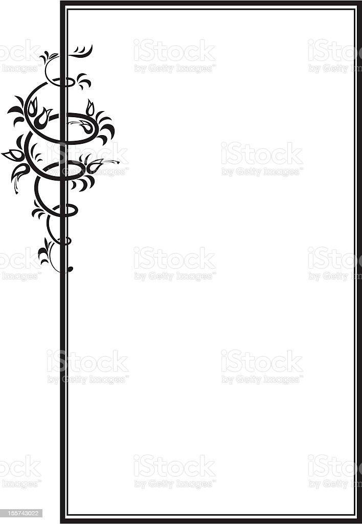 Vector decorative frame II royalty-free stock vector art