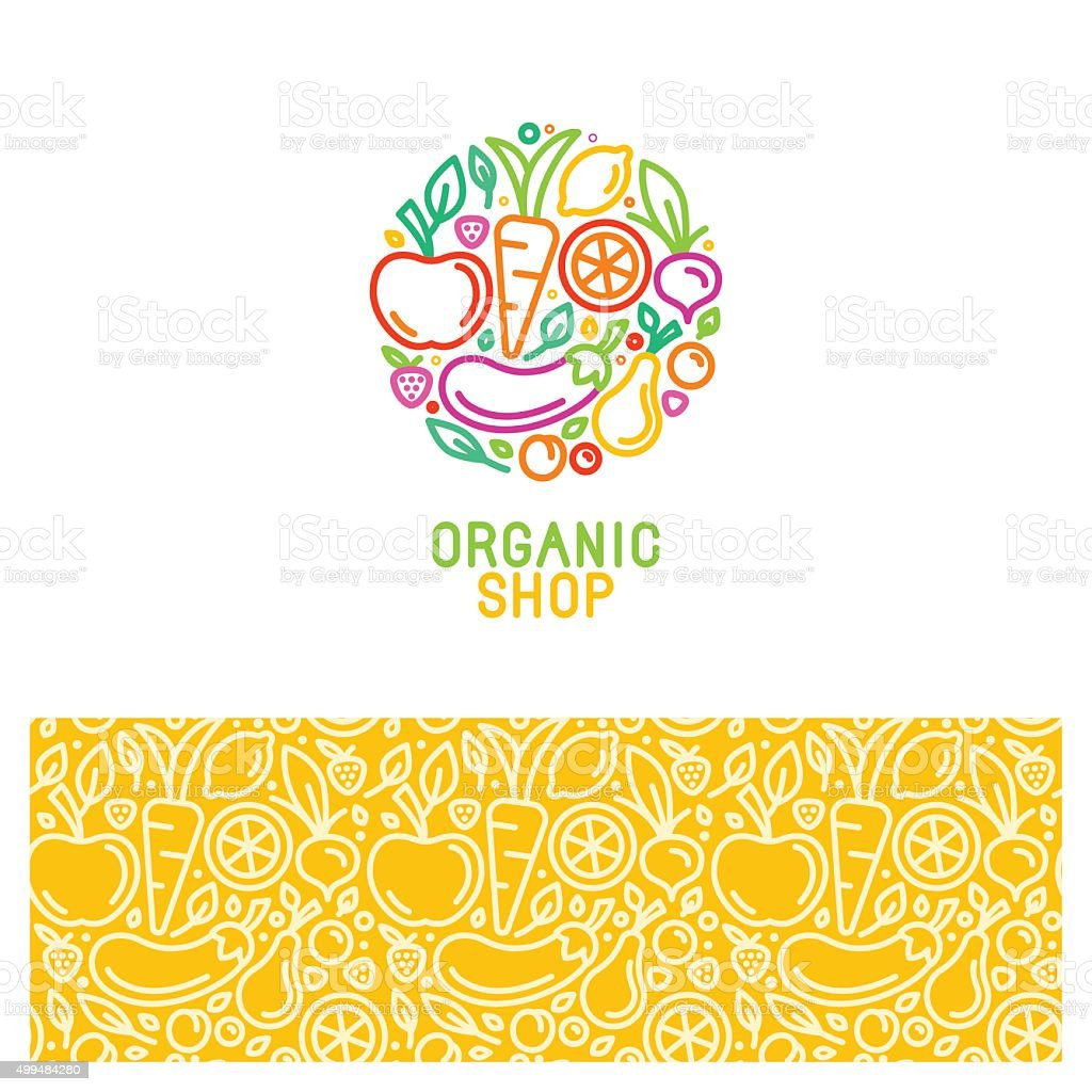 Vector design elements and seamless patterns vector art illustration