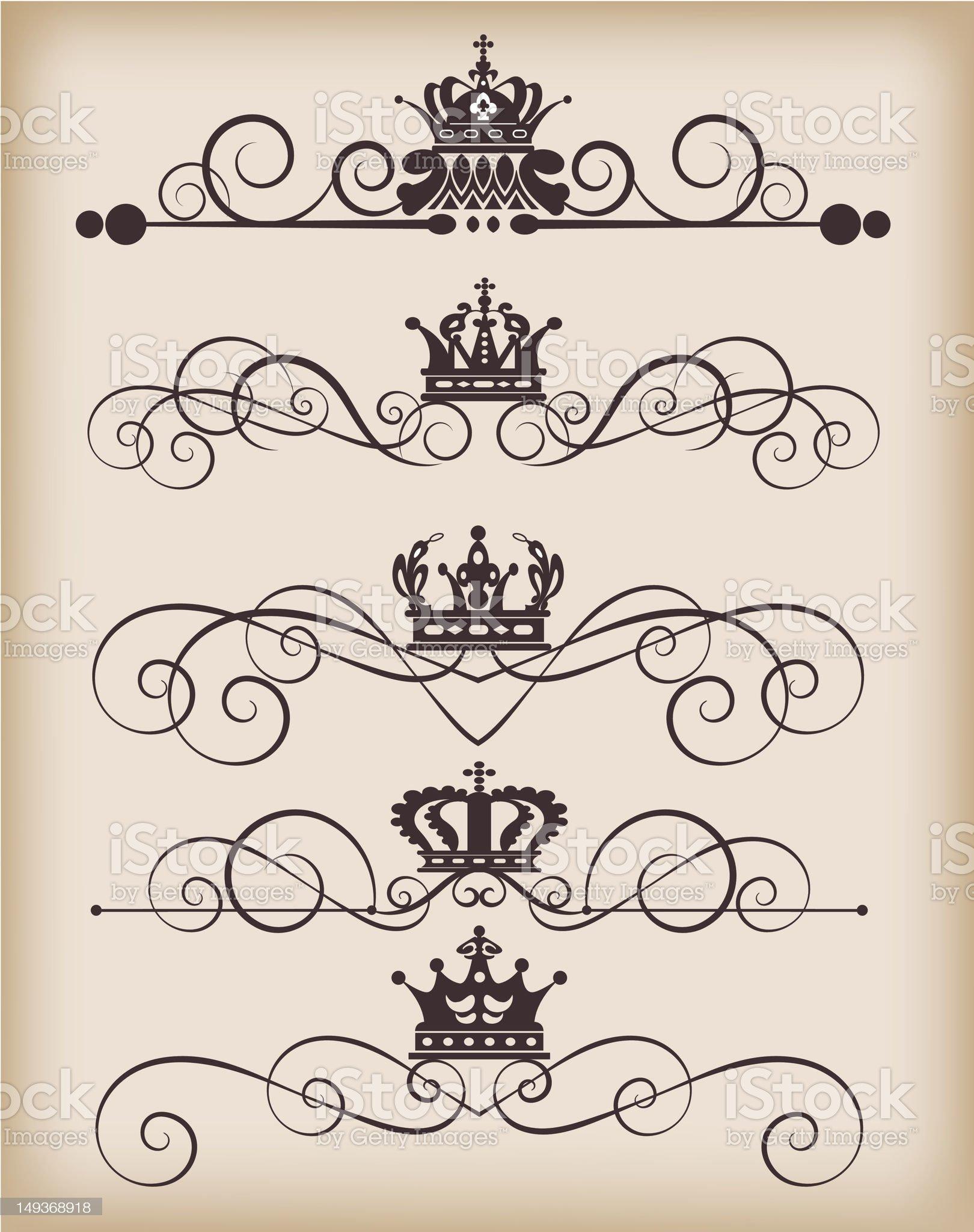 Vector Design Elements - set 29 royalty-free stock vector art