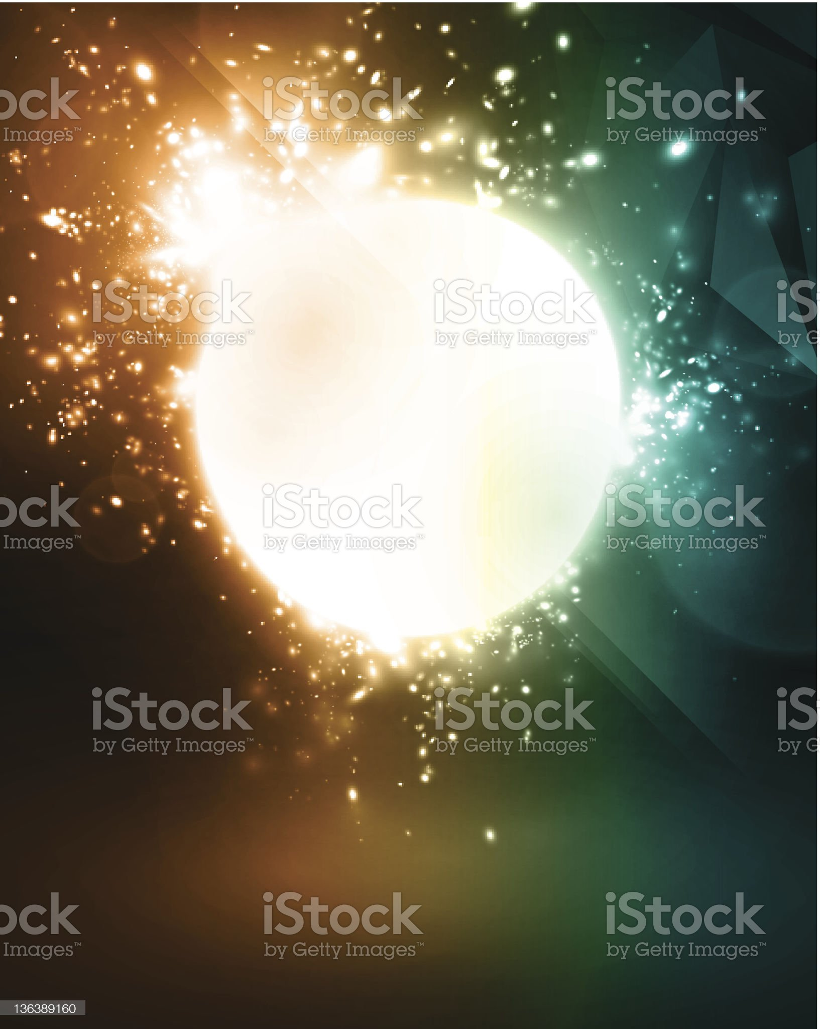 Vector design with space for message royalty-free stock vector art