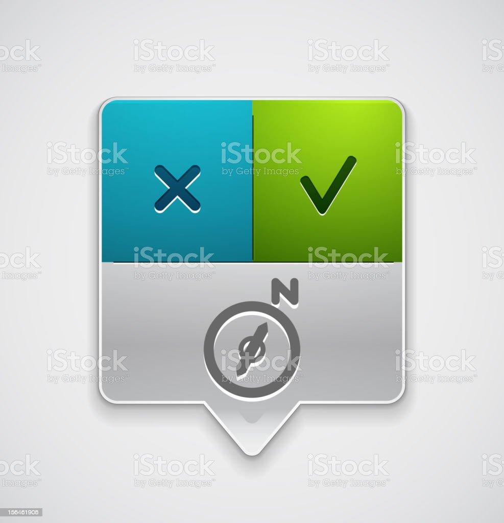 Vector dialog box royalty-free stock vector art