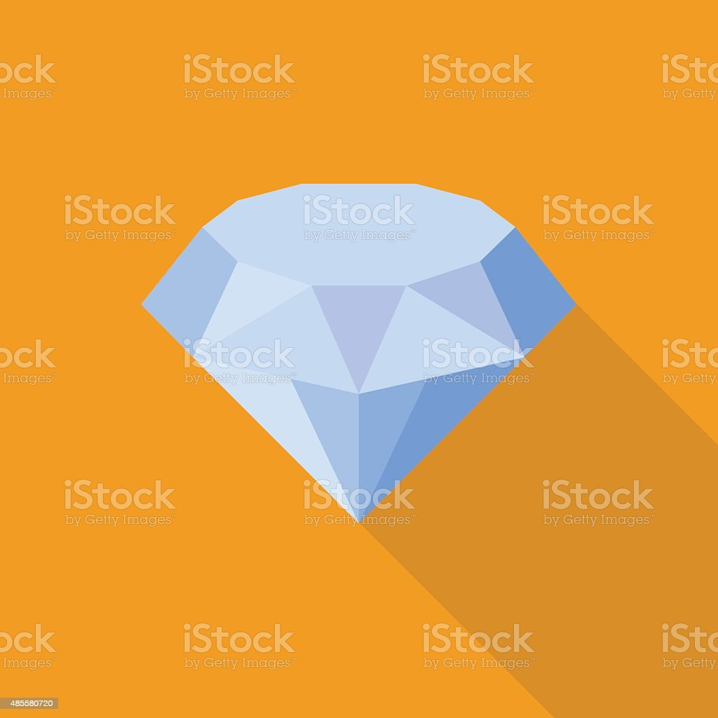 Vector Diamond icon vector art illustration