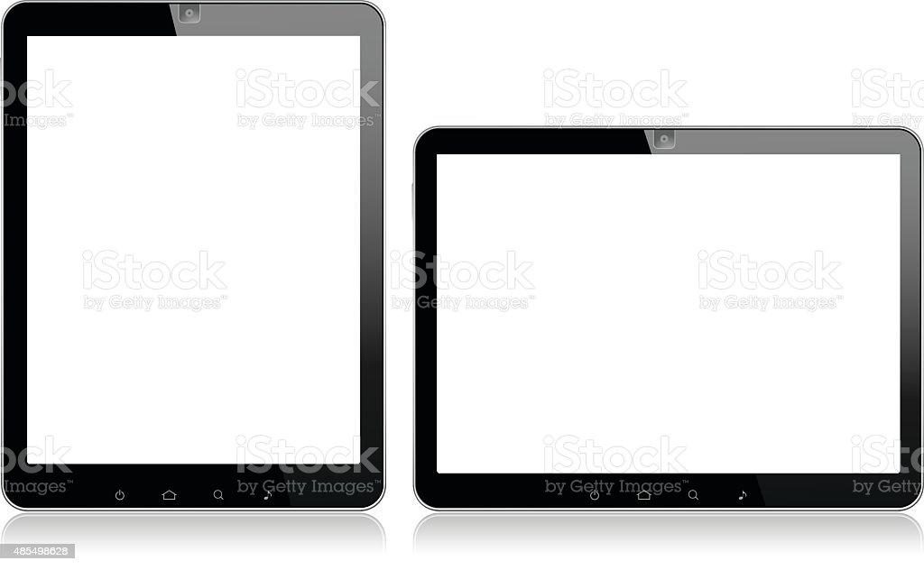 Vector Digital Tablet vector art illustration