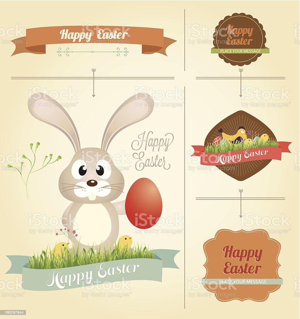 Vector Easter Design Element royalty-free stock vector art