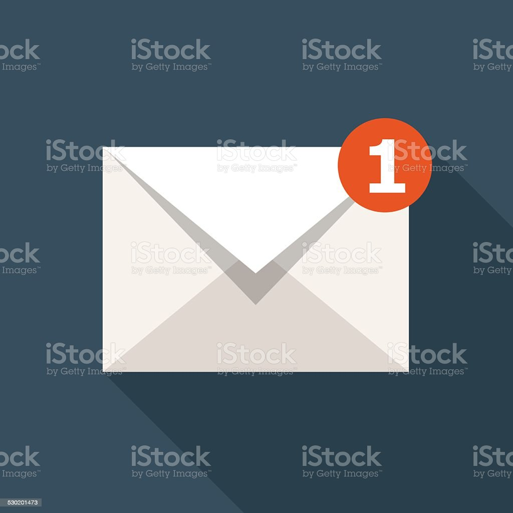 Vector Email Icon vector art illustration