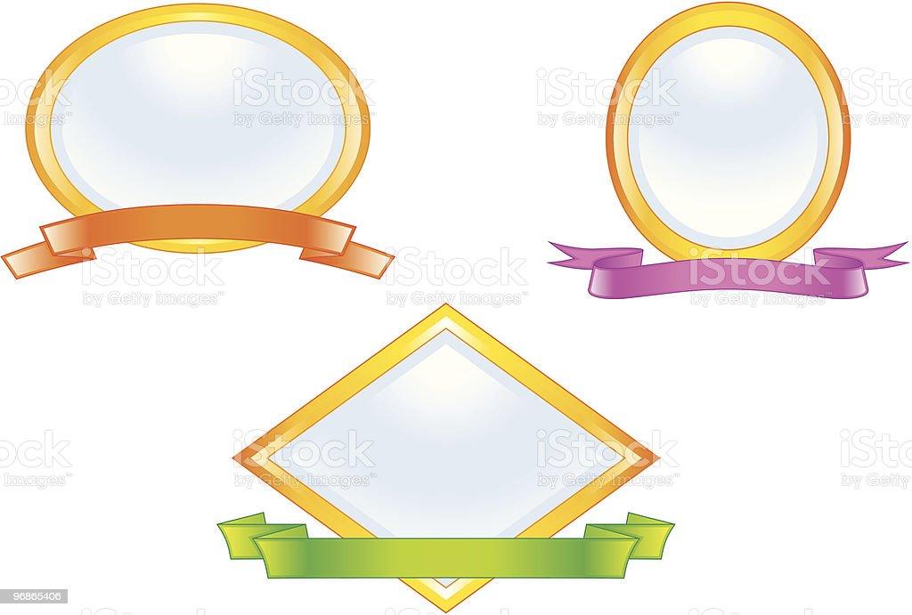Vector emblems vector art illustration