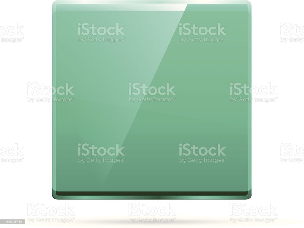 Vector emerald background royalty-free stock vector art
