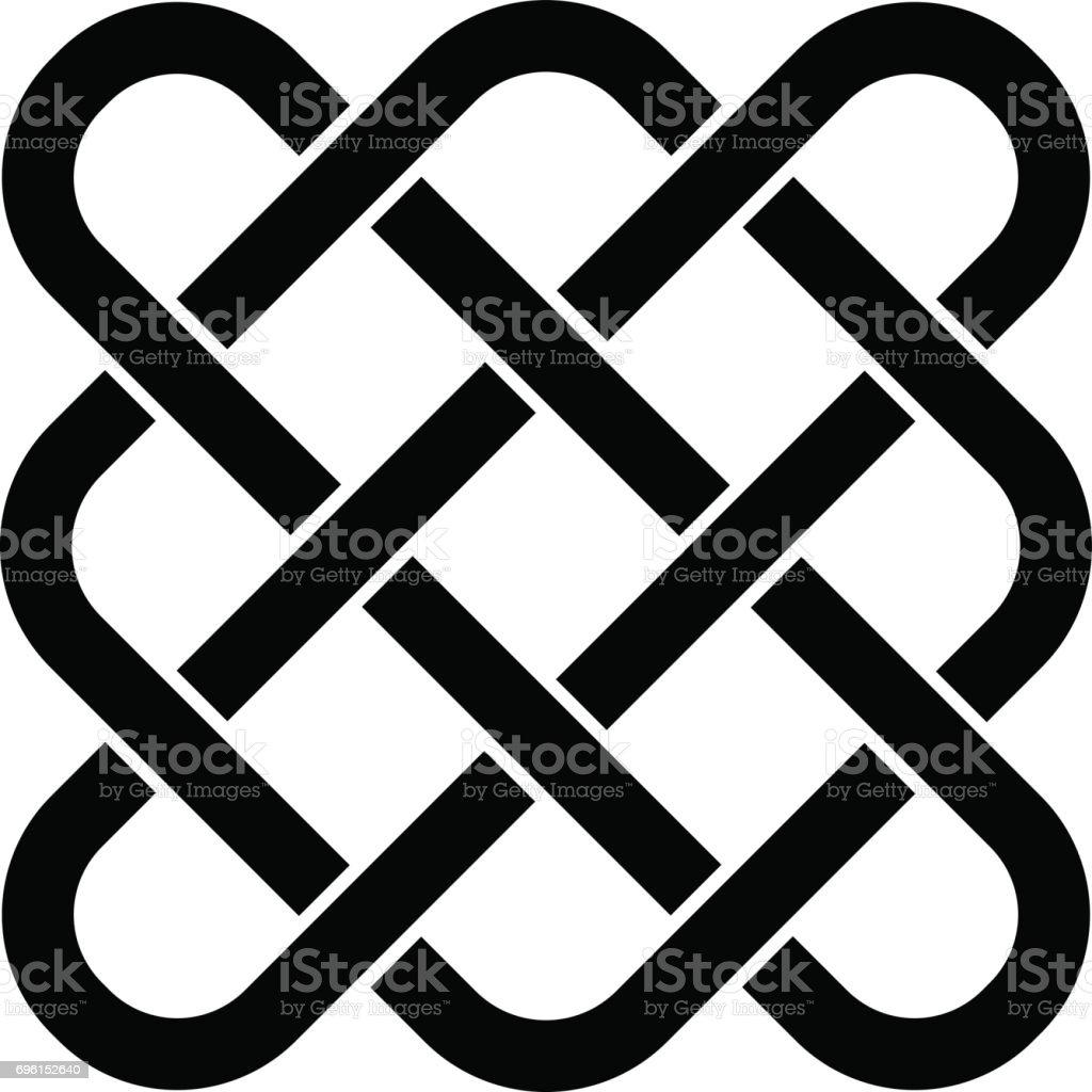 vector endless celtic knot vector art illustration