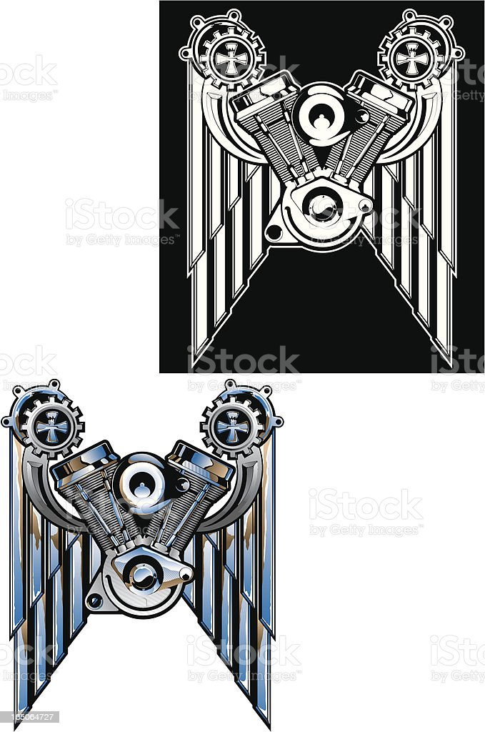 vector engine royalty-free stock vector art