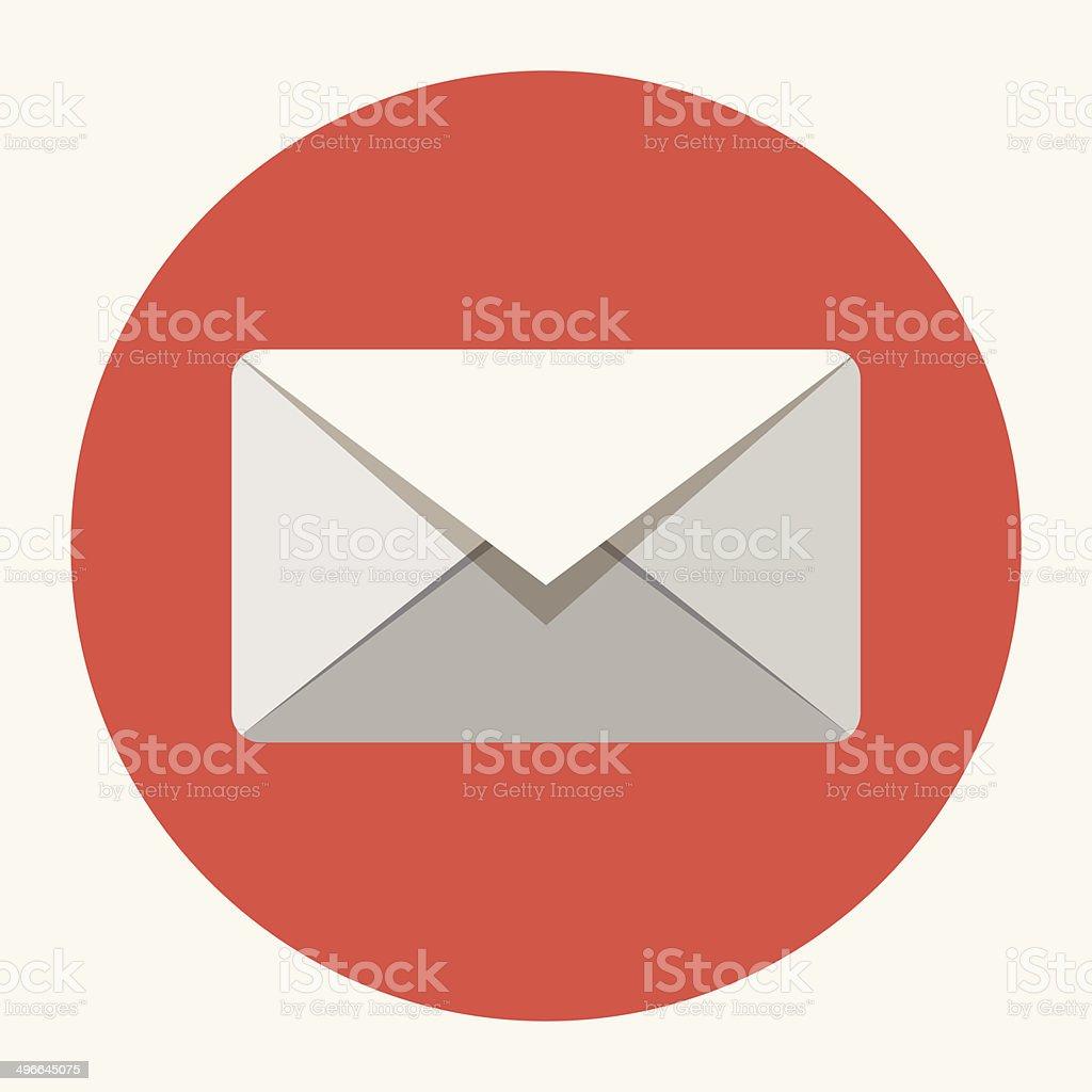 Vector envelope icon vector art illustration