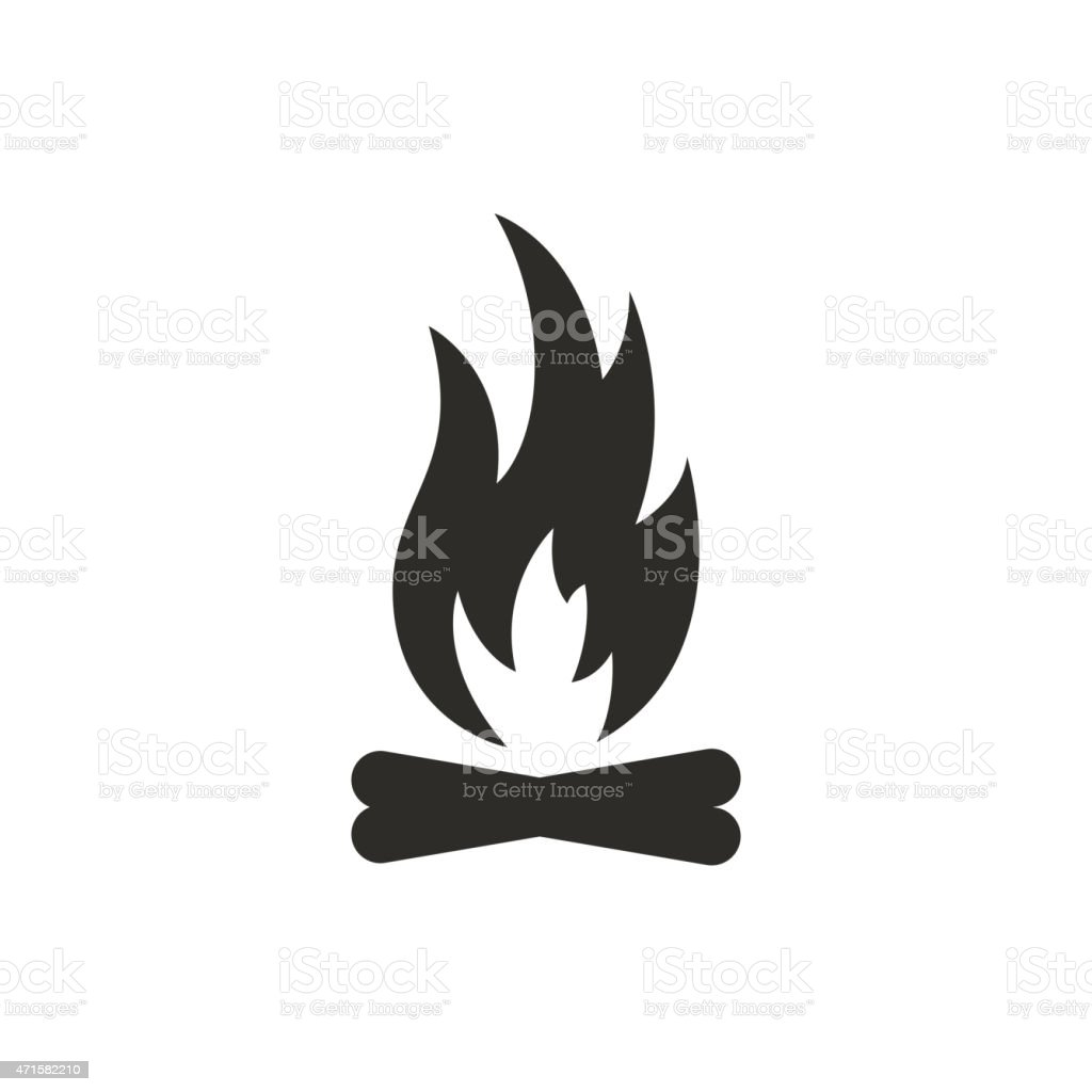 Campfire Clip Art Vector Images Amp Illustrations Istock