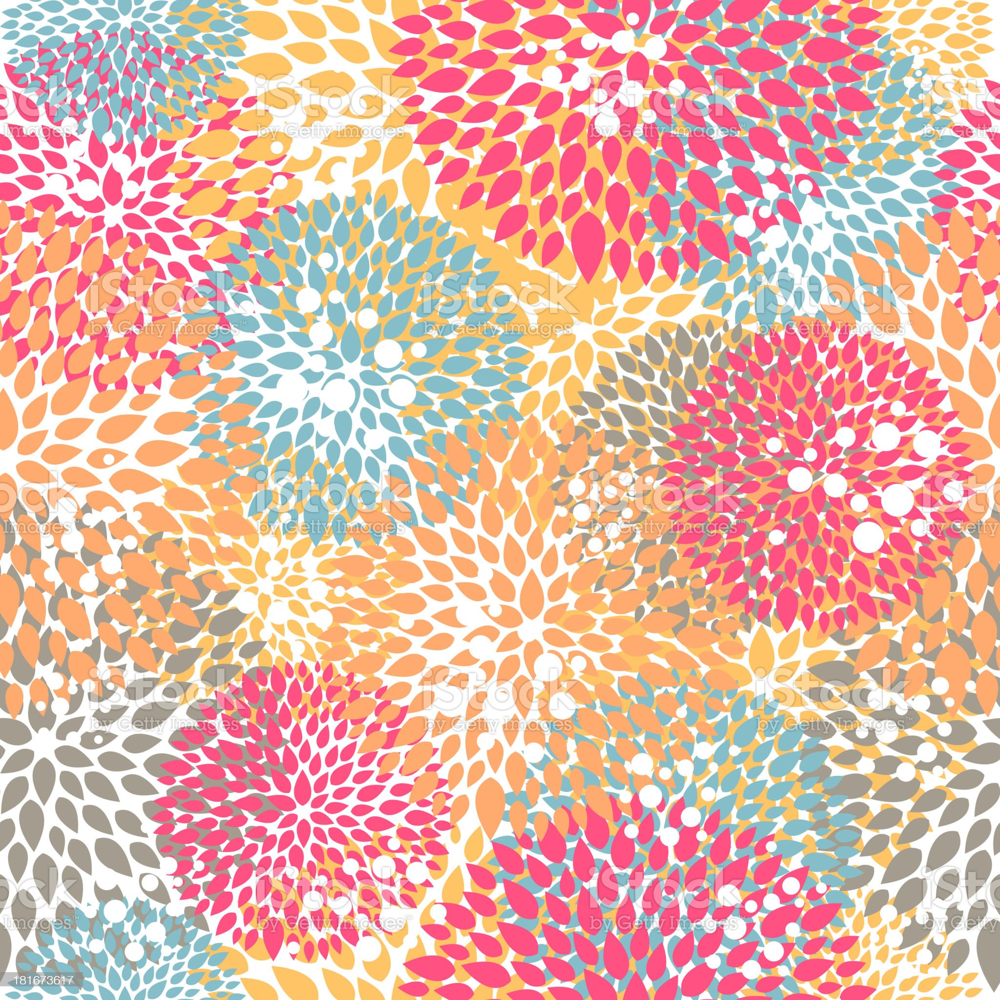 Vector Floral Pattern royalty-free stock vector art