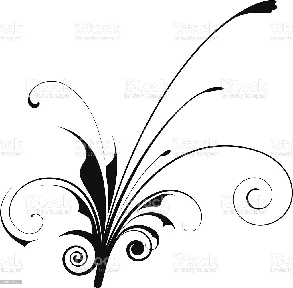 Vector Flower royalty-free stock vector art