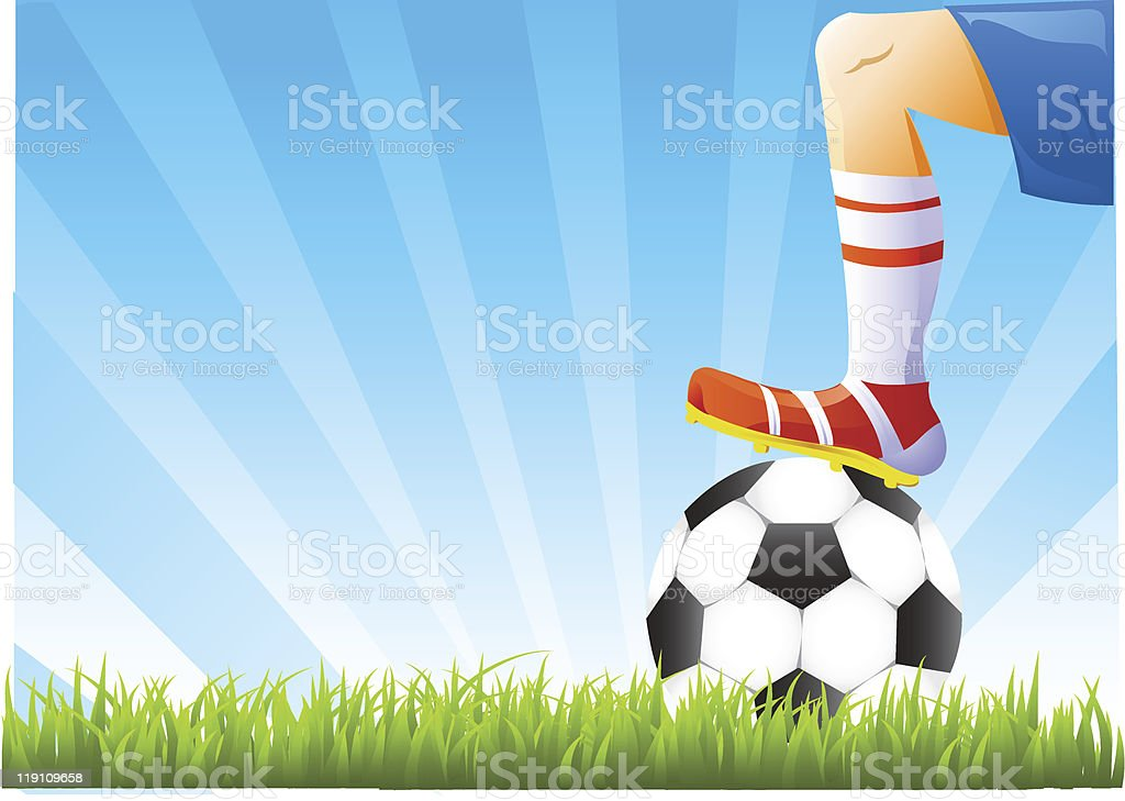 vector football background royalty-free stock vector art