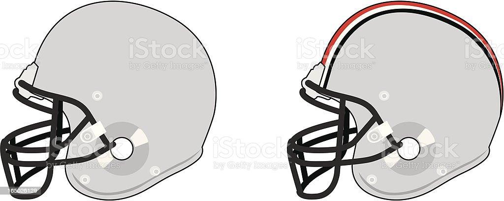 Vector Football Helmet royalty-free stock vector art