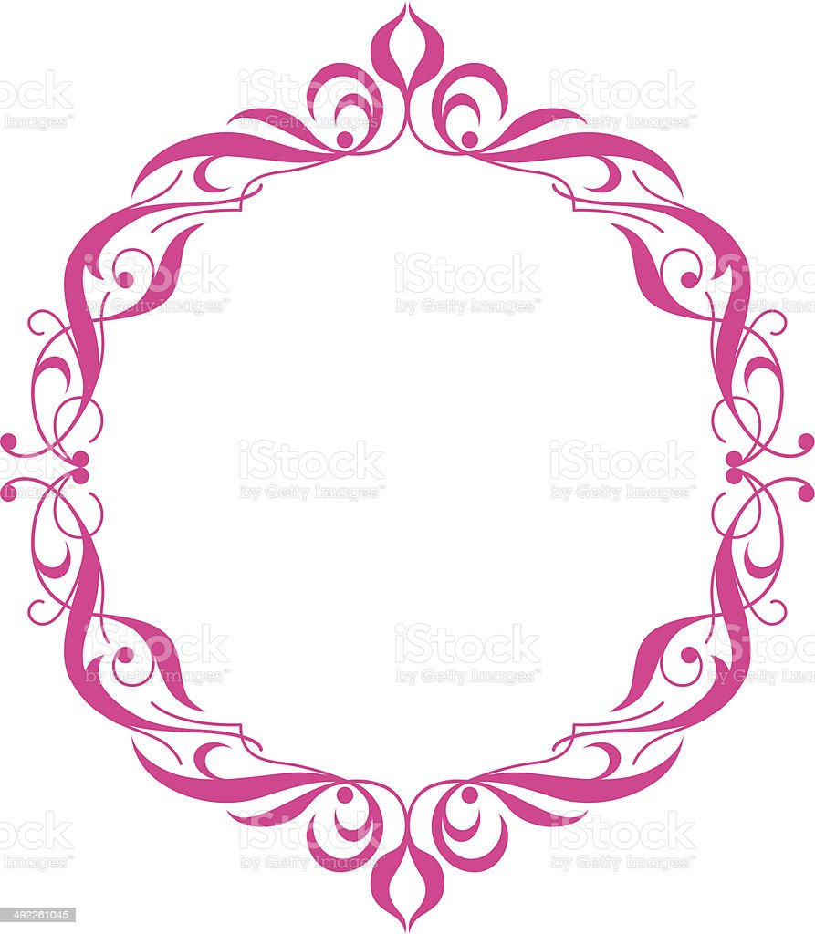 Vector Frame and Border royalty-free stock vector art