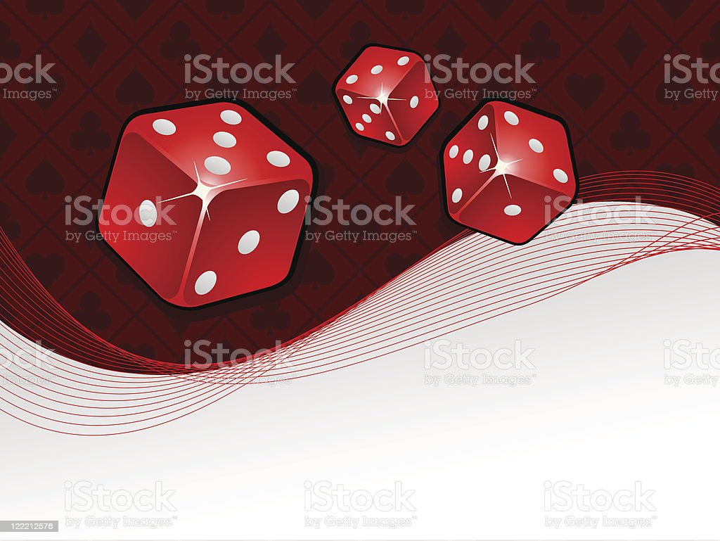 Vector gambling background royalty-free stock vector art