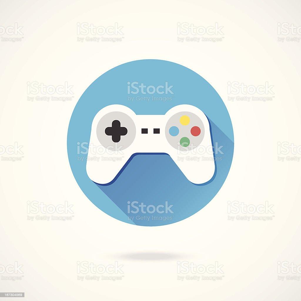 Vector Gamepad Icon royalty-free stock vector art