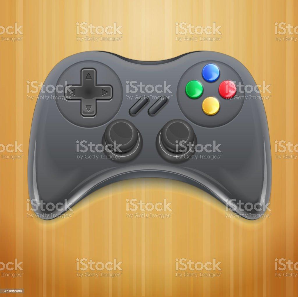 Vector Gamepad vector art illustration