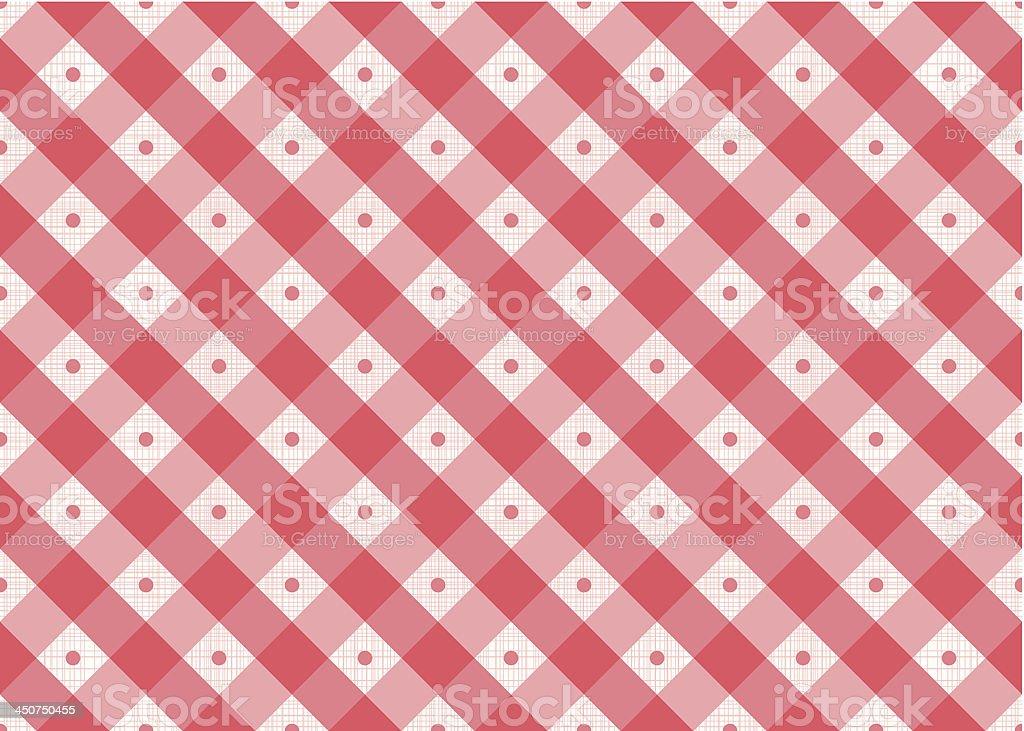 Vector Geometric Retro Seamless Pattern royalty-free stock vector art