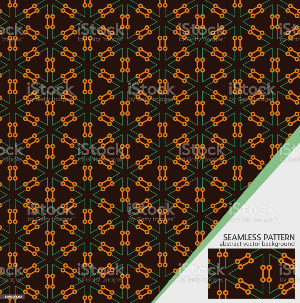 Vector geometric seamless pattern for your design royalty-free stock vector art