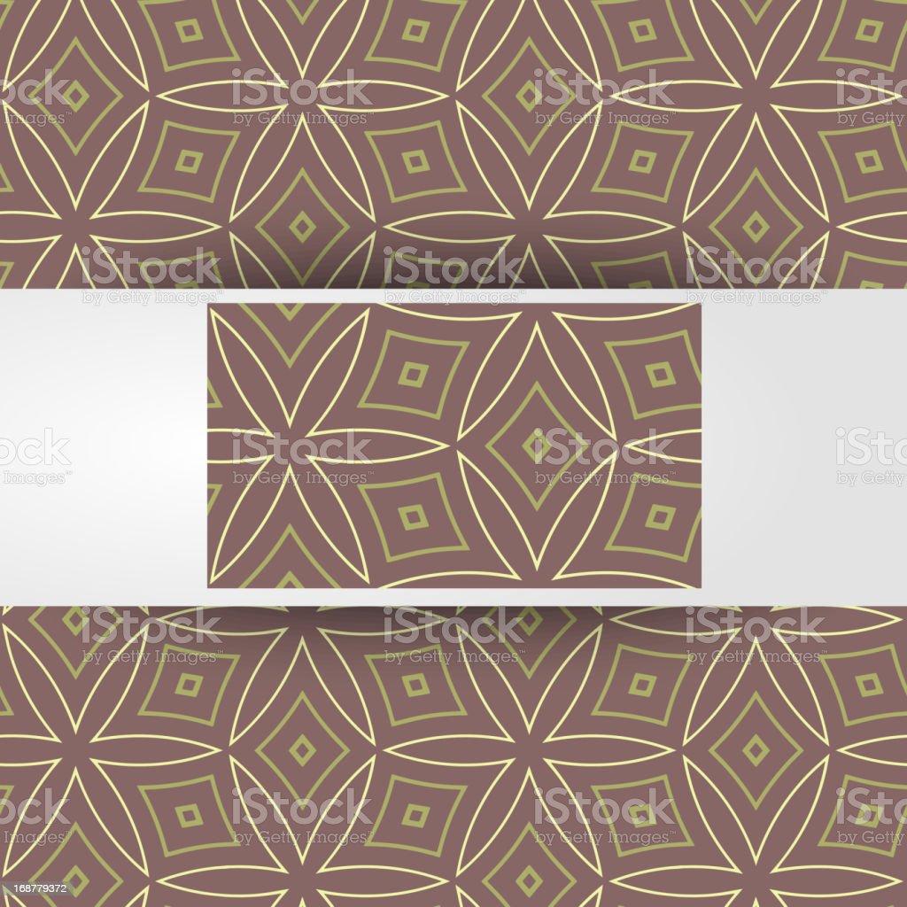Vector geometric seamless pattern royalty-free stock vector art