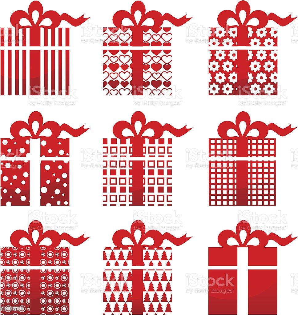 Vector gift icon royalty-free stock vector art