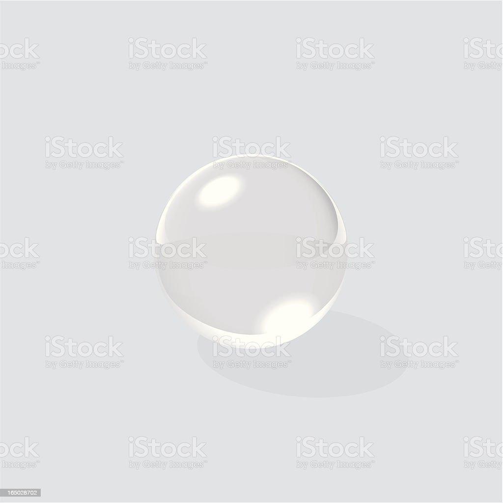 Vector Glass Ball vector art illustration
