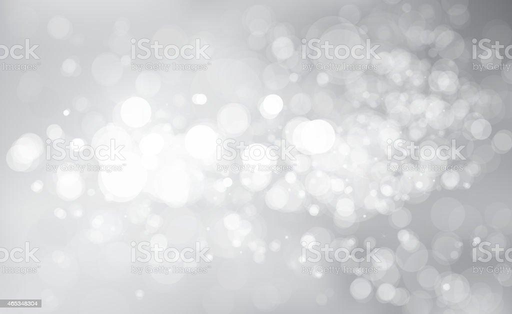 Vector glitter silver background. vector art illustration