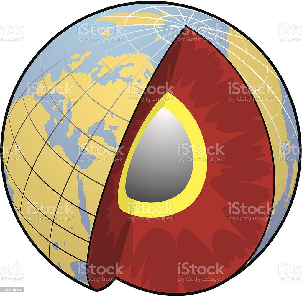 vector globe 2 royalty-free stock vector art
