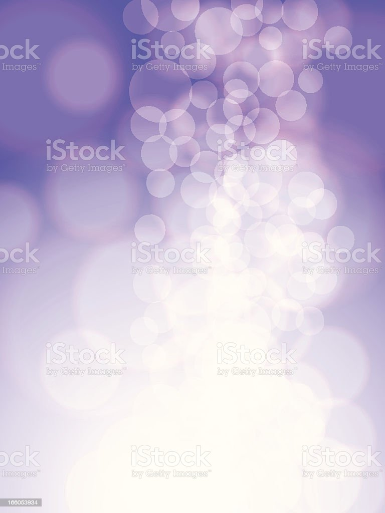 Vector Glowing Background royalty-free stock vector art