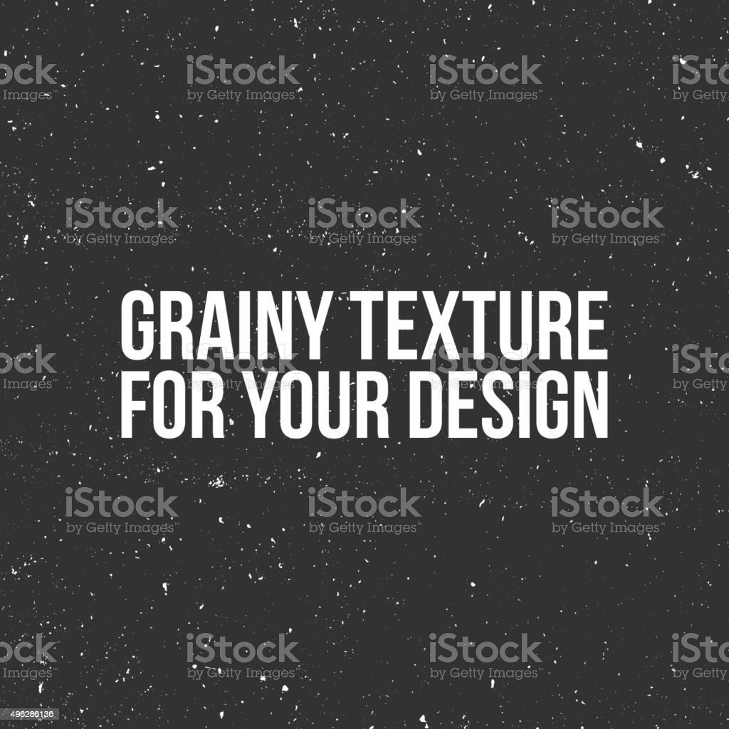 Vector grain Texture like a Snow, Dust or Sand royalty-free stock vector art
