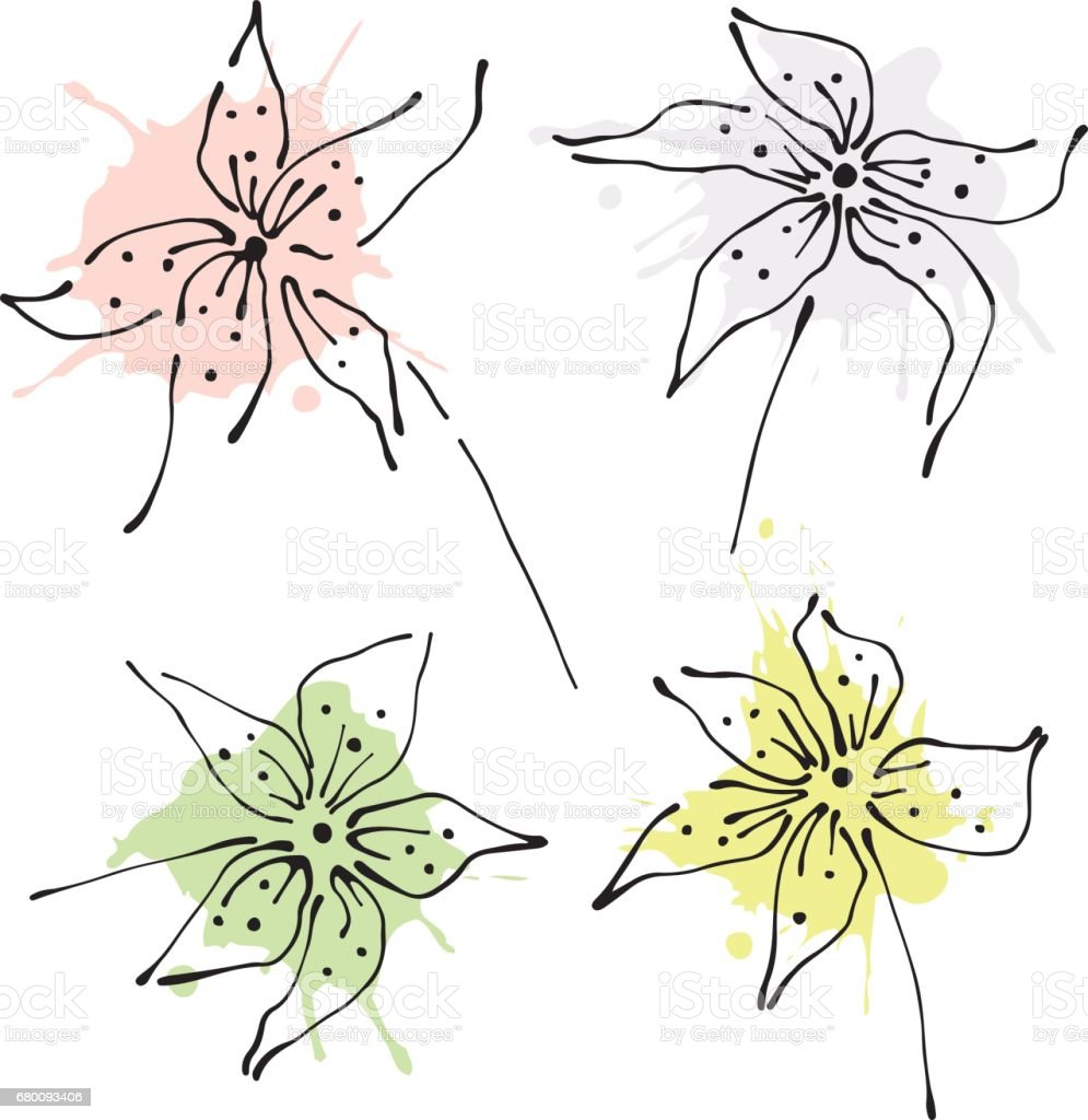 Vector graphic illustration vector art illustration