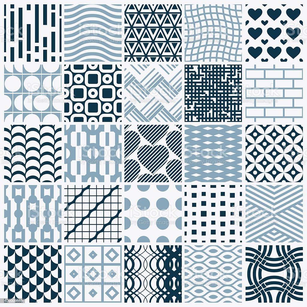 Vector graphic vintage textures created with squares, rhombuses vector art illustration