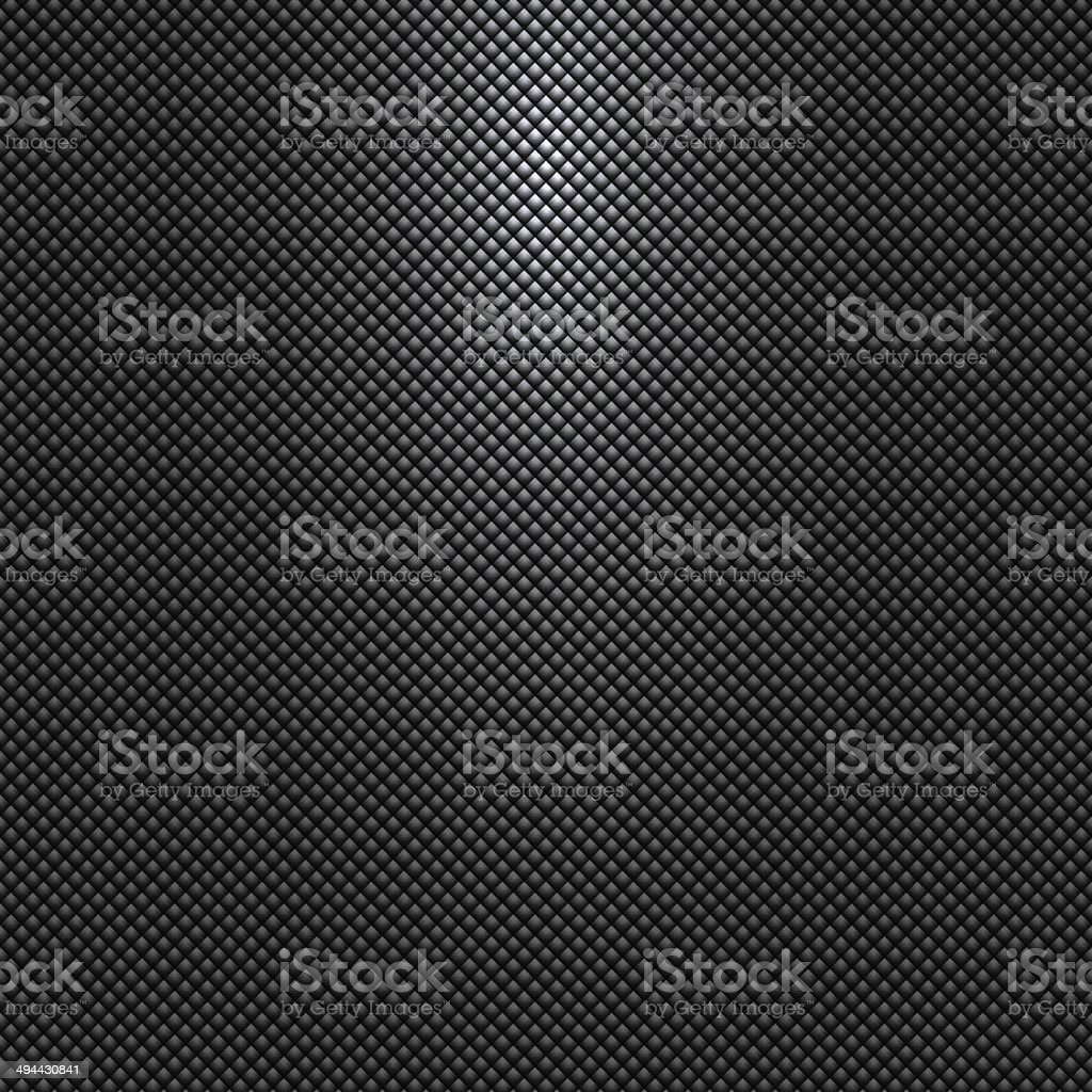 Vector gray or black background with rhombus pattern and light vector art illustration