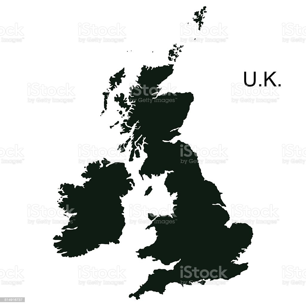 Vector Great Britain Pictogram vector art illustration