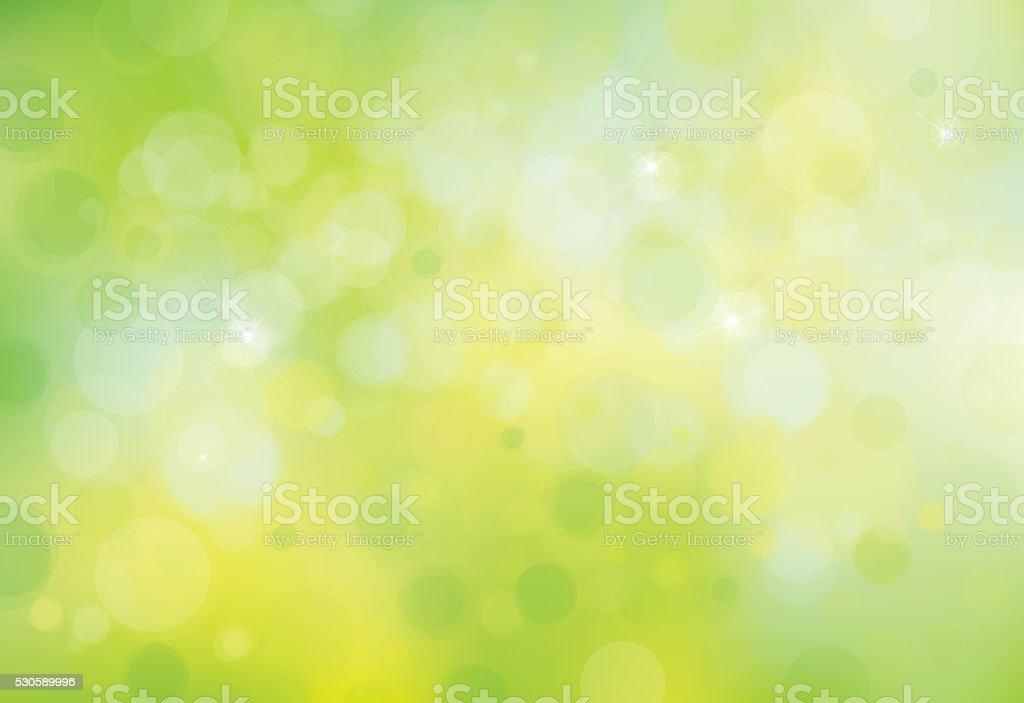 Vector green  background. vector art illustration
