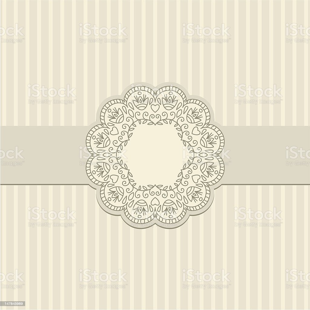 Vector greeting card. royalty-free stock vector art