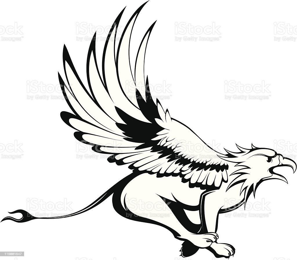 vector griffin royalty-free stock vector art